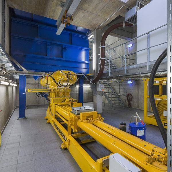 Solution image of Transport of sewage sludge with piston pumps