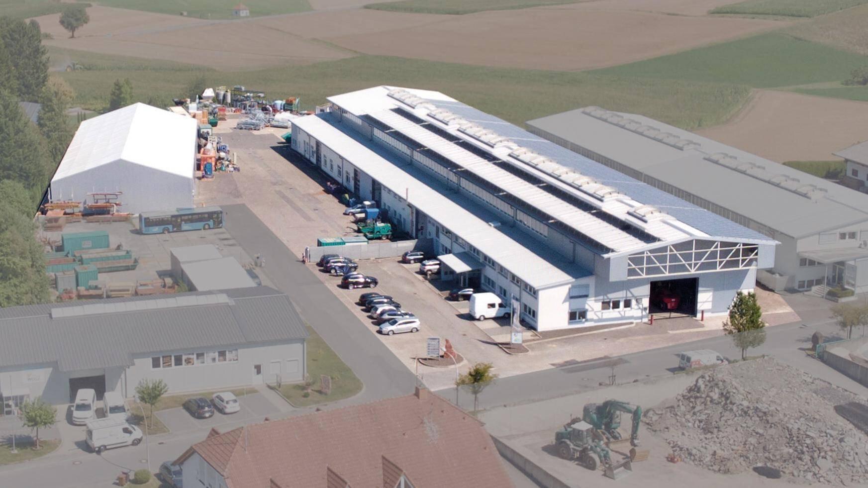 Gallery image 1 - Plant 2 in Reichartshausen 2000m² production area