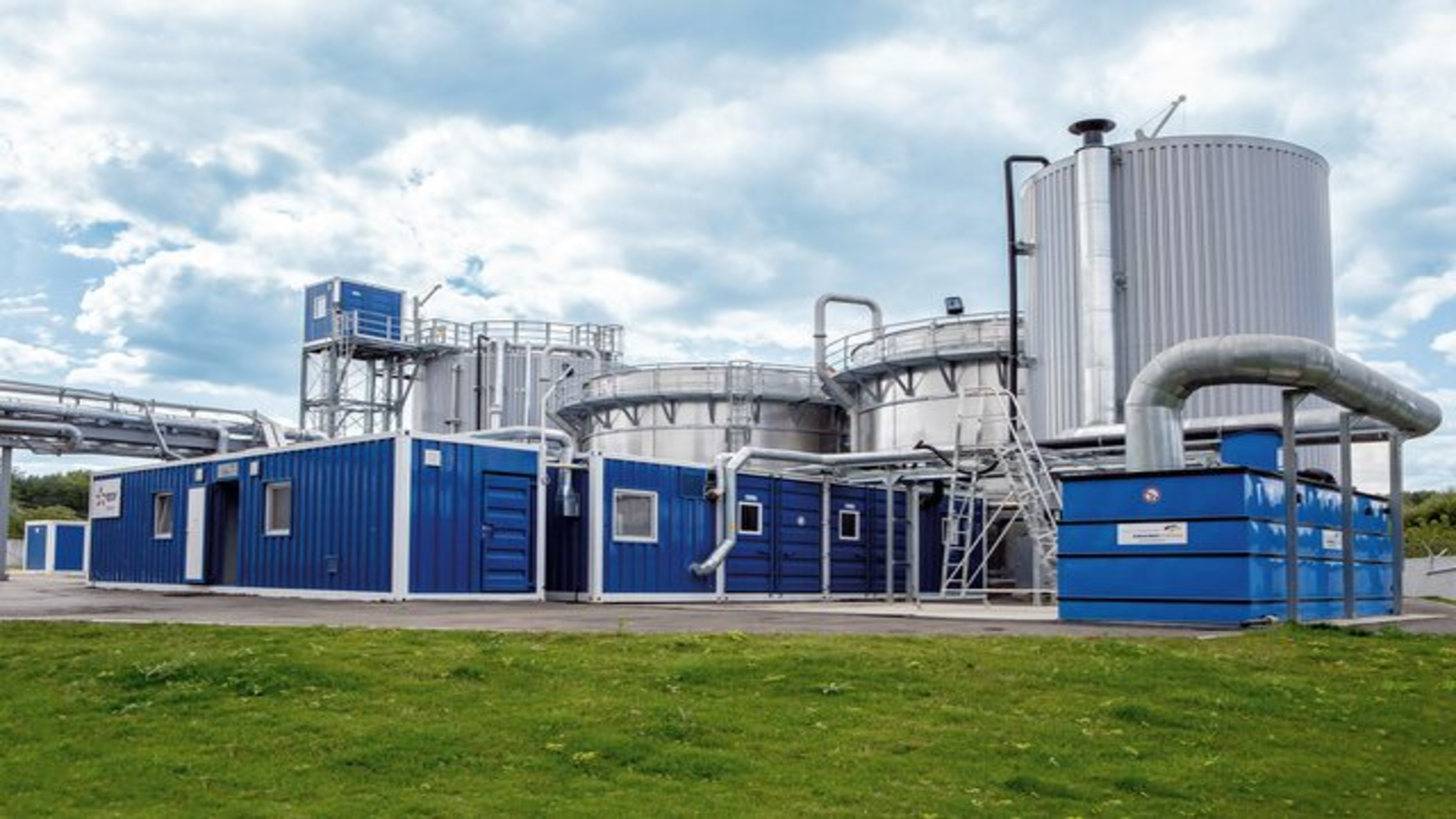 Gallery image 1 - Multi-stage biological wastewater treatment for a large dairy