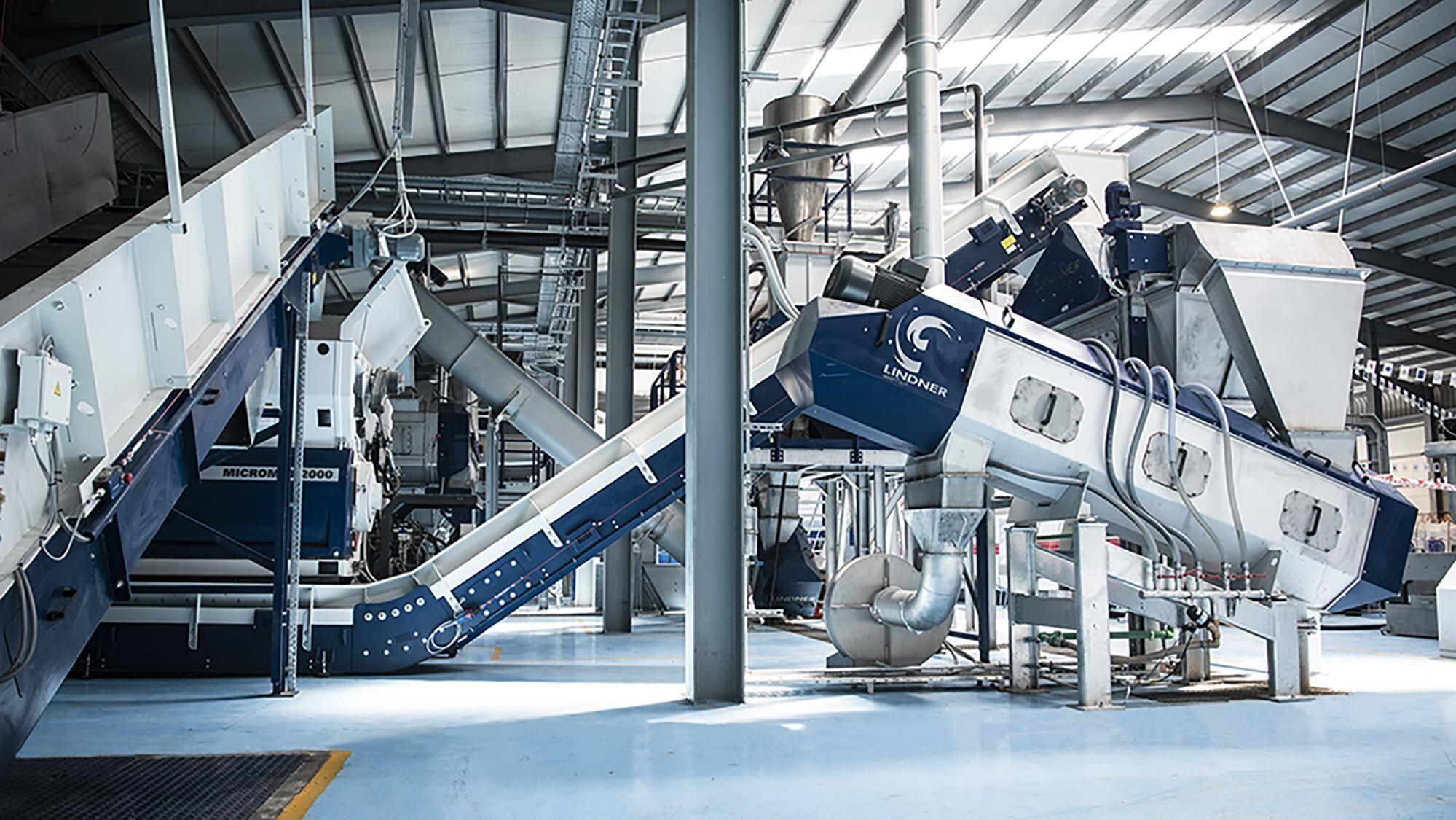 Gallery image 2 - System solution plastics recycling: shredding, washing, sorting